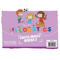 Les Loustics 3 Cartes Images (x100)