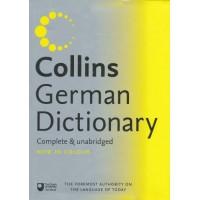Collins German - English, English - German Dictionary Complete & Unabridged