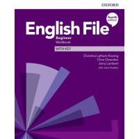 English File 4th Ed. Beginner WB + Key