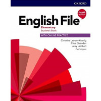 English File 4th Ed. Elem. SB + Online Practice