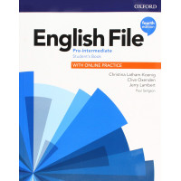 English File 4th Ed. Pre-Int. SB + Online Practice