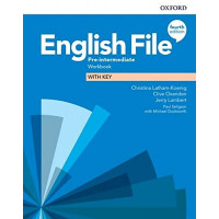 English File 4th Ed. Pre-Int. WB + Key