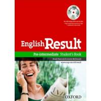 English Result Pre-Int. SB + DVD (vadovėlis)