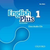 English Plus 2nd Ed. 1 Cl. CDs