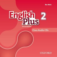 English Plus 2nd Ed. 2 Cl. CDs