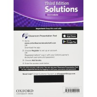 Solutions 3rd Ed. Int. Classroom Presantation Tool Access Card