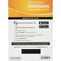 Solutions 3rd Ed. Up-Int. Classroom Presentation Tool