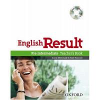 English Result Pre-Int. TB + DVD