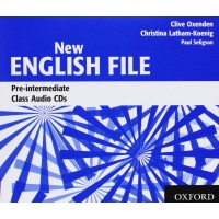 New English File Pre-Int. Cl. CDs
