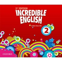 Incredible English 2nd Ed. 2 Cl. CDs