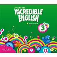 Incredible English 2nd Ed. 3 Cl. CDs