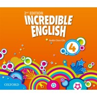 Incredible English 2nd Ed. 4 Cl. CDs