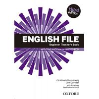 New English File 3rd Ed. Beginner TB + CD-ROM