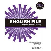 New English File 3rd Ed. Beginner WB + Key
