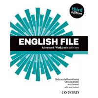 New English File 3rd Ed. Adv. WB + Key