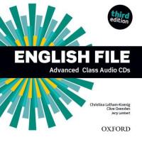 New English File 3rd Ed. Adv. Cl. CDs