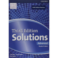 Solutions 3rd Ed. Adv. SB & Online Practice Pack