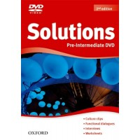Solutions 2nd Ed. Pre-Int. DVD