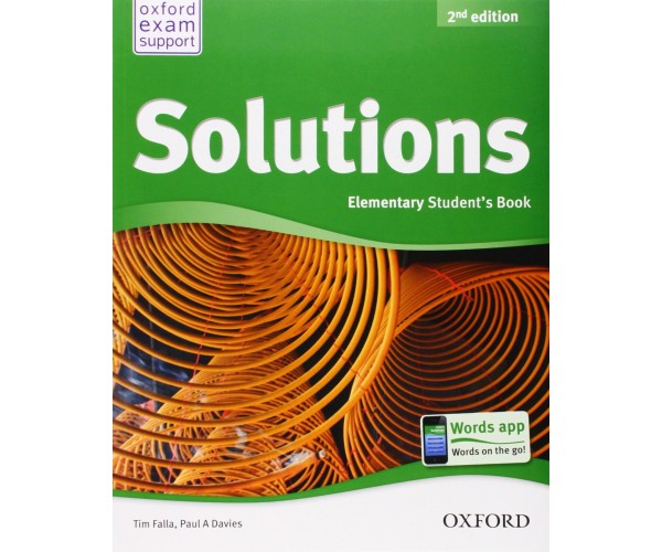 Solutions 2nd Ed. Elem. SB