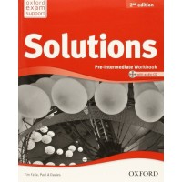Solutions 2nd Ed. Pre-Int. WB + CD