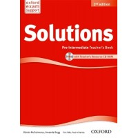 Solutions 2nd Ed. Pre-Int. TB + CD-ROM