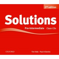 Solutions 2nd Ed. Pre-Int. Cl. CDs