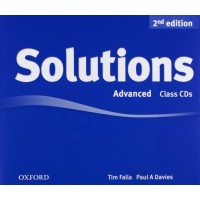 Solutions 2nd Ed. Adv. Cl. CDs