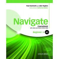 Navigate Beginner A1 SB + DVD & OOS