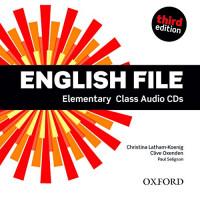 New English File 3rd Ed. Elem. Cl. CDs