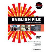 New English File 3rd Ed. Elem. DVD