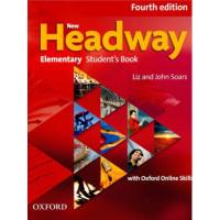 New Headway 4th Ed. Elem. SB + Oxford Online Skills