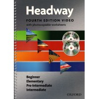 New Headway 4th Ed. Beginner - Intermediate DVD Pack