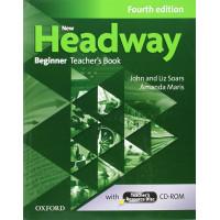 New Headway 4th Ed. Beginner TB + CD-ROM