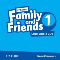 Family & Friends 2nd Ed. 1 Cl. CD