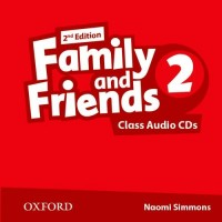 Family & Friends 2nd Ed. 2 Cl. CDs
