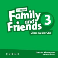 Family & Friends 2nd Ed. 3 Cl. CDs