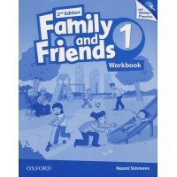 Family & Friends 2nd Ed. 1 WB & Online Practice