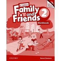 Family & Friends 2nd Ed. 2 WB & Online Practice