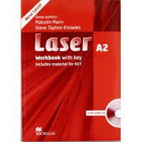 Laser 3rd Ed. A2 WB + Key & CD