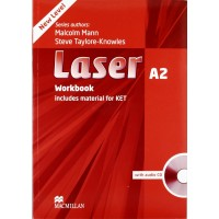 Laser 3rd Ed. A2 WB + CD