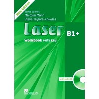 Laser 3rd Ed. B1+ WB + Key & CD