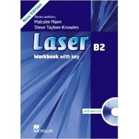 Laser 3rd Ed. B2 WB + Key & CD (pratybos)