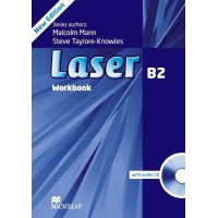 Laser 3rd Ed. B2 WB + CD (pratybos)