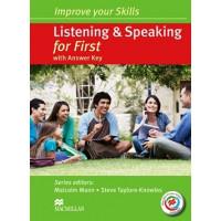 Skills First List. & Speak. SB + Key + CDs & MPO