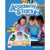 Academy Stars 2 SB + Access code (vadovėlis)