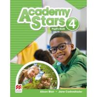 Academy Stars 4 SB + Access code (vadovėlis)