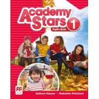 Academy Stars 1 SB + Access code (vadovėlis)