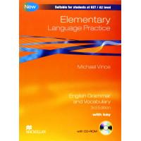 Language Practice Elementary 3rd Ed. + Key & CD-ROM