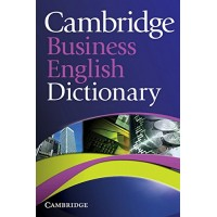 Cambridge Business English Dictionary 1st Ed. Paperback