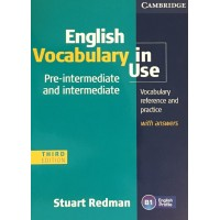 English Vocabulary in Use 3rd Ed. Pre-Int./Int. Book + Key